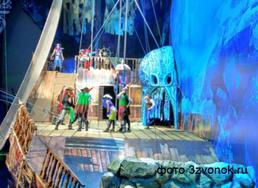 """Новогоднее цирковое водное шоу """"Пираты и корабль-призрак"""""""